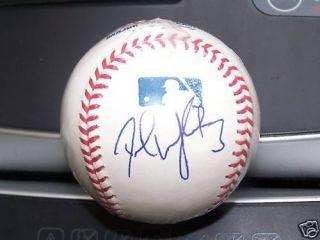 David Wright NY Mets Signed MLB Baseball COA