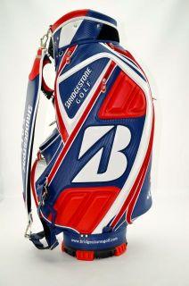 Autographed Bridgestone Ryder Cup Fred Couples Tour Staff Golf Bag SKU