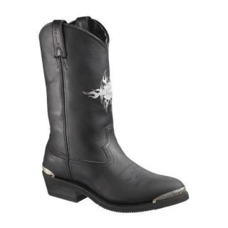 Mens Harley Davidson Amarillo Western Cowboy Boots Super Low Price