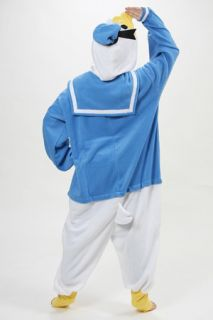 Donald Duck Disney Costume KIGURUMI Cosplay Pajamas Party Xmas