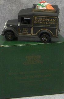 Dept 56 Heritage Village Express Van European Gifts 739 0