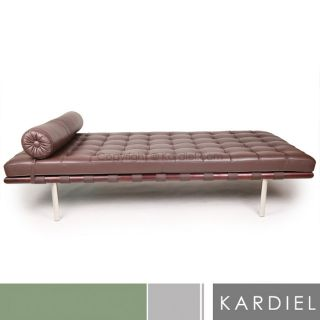 Barcelona Style Daybed Midcentury Sofa Loveseat Chair High Quality