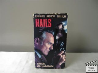 Nails VHS 1993 Dennis Hopper Anne Archer Tomas Milian 086112288635