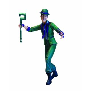 DC Direct Batman Arkham City Series 2 Riddler Action Figure in Stock