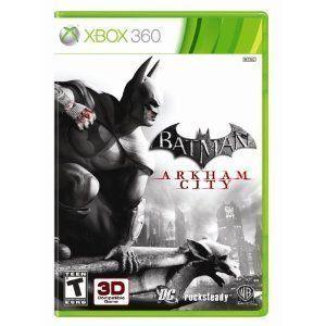 Batman Arkham City Xbox 360 Video Game DC Comics 3D Compatible Brand