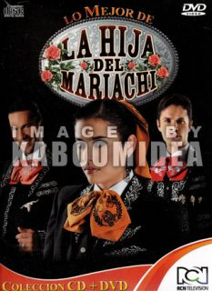 DVD + CD LA HIJA DEL MARIACHI Musica De La Novela CD NEW Videos