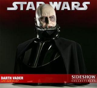 Sideshow Star Wars Darth Vader Life Size Bust