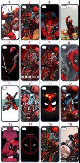New Deadpool Marvel DC Apple iPhone 4 4S Hard Case Exclusive Assorted