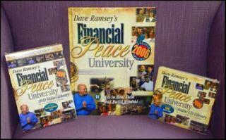 Dave Ramsey Financial Peace University Box Set DVD CD