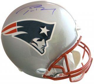 TOM BRADY Signed Authentic Proline New England Patriots Helmet