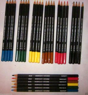 Derwent 30 Coloursoft Color Pencils 6 Vibrant Colors Artists Supplies