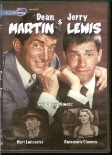 Dean Martin Jerry Lewis DVD Remastered Brand New