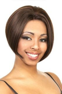 Lace Wig Short Page LFE Debby Color Black Brown Mixed UPICK
