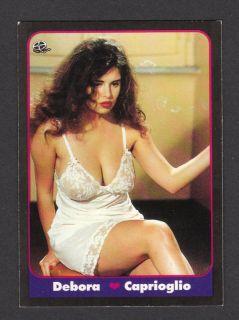 Deborah Caprioglio Italian Movie Film Pop Model Card
