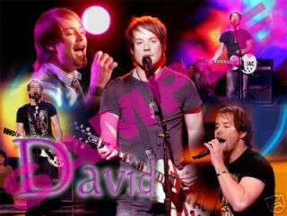 American Idol Star David Cook Cool Custom New T Shirt