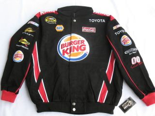 David Reutimann Burger King Cotton Twill LARGE Jacket By Chase