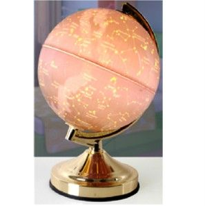 CONSTELLATION WORLD GLOBE EARTH TOUCH LIGHT NOVELTY TABLE LAMP L7202BR