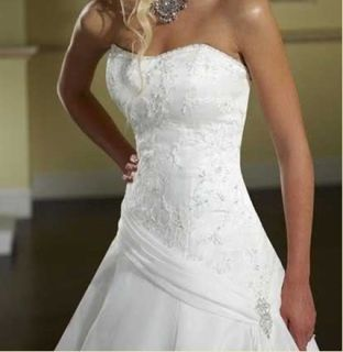 Custom Wedding Dress Bridal Gown Deb Plus Size Colour