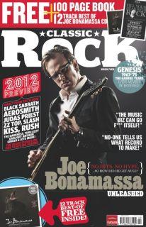 Classic Rock 167 February 2012 Joe Bonamassa CD Black Sabbath Genesis