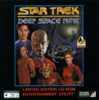 Star Trek Deep Space Nine Entertainment Utility Le PC CD Customize