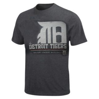 Detroit Tigers Team Player Style T  Charcoal   Adult Medium   Retail $