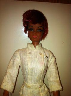 VNTG DIAHANN CARROLL AS JULIA BARBIE DOLL ORIGINAL NURSE DRESS 1968