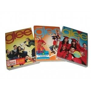 New Glee Seasons 1 3 DVD Box Set The Complete Seasons 1 2 3