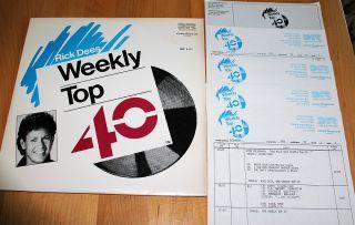 RICK DEES Weekly American Top 40 LP Radio Show 3 5 88 Michael Jackson