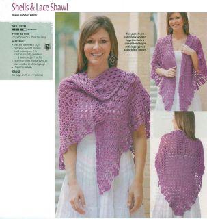 Easy Lacy Crochet Shawl Pattern : CROCHET SHAWL LACE PATTERN FREE CROCHET PATTERNS