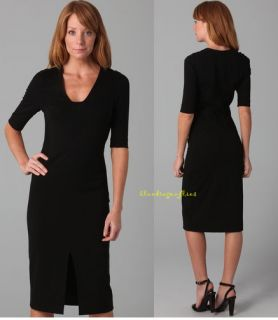 Diane Von Furstenberg $365 Black Phyllis Dress