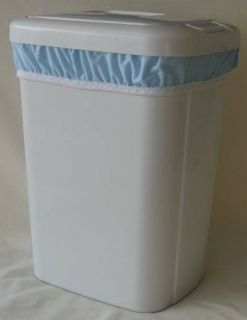 PUL Baby Cloth Diaper Pail Liner Wet Bag Baby Blue