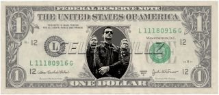 Dollar Bill Mint Real $$ Celebrity Novelty Collectible Money