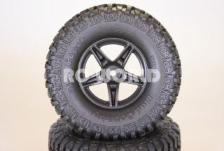 RC4WD Dick Cepek Mud Country 2 2 Wheels Tires for 1 10 Rock Crawler 2