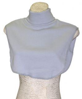 Turtleneck Dickie Dicky Dickey Shirt Light Gray No Arm Holes Pale Grey