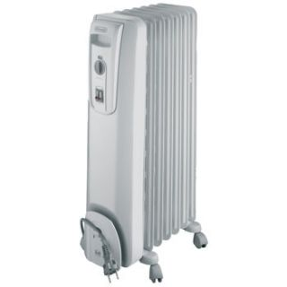 New Delonghi Oil Filled Electric Radiator Portable Space Heater