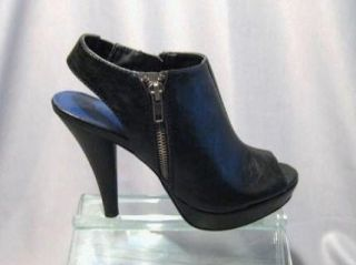 Madden Girl Demaris Black Ankle Boot Pump Sizes 7 9 5