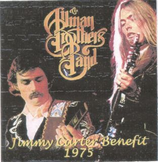 Carter Benefit 1975 by Allman Brothers CD 1995 Gregg Dickey Betts Live