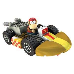 DIDDY KONG & STANDARD KART BUILDING SET   KNEX Nintendo Wii Mario Kart
