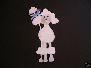 Sizzix Poodle Die Cut Cuts Boy Dog