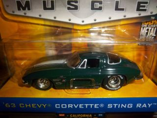 Jada Toys Chevy Corvette Bigtime Muscle 1 64 Diecast Car