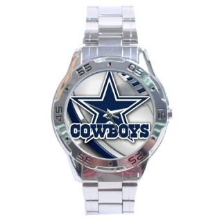 New Dallas Cowboys Sexy NFL Analog Watch Stainless Steel