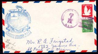 Byrd Station Antarctica 1959 Deep Freeze Cover. Make multiple
