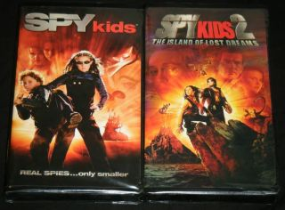 SPY Kids 1 & 2, DIMENSION Films 2001 & 2003 VHS Movies