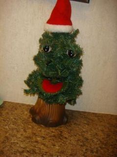 Douglas Fir the Talking Christmas Tree * Animated sing * Gemmy 1997
