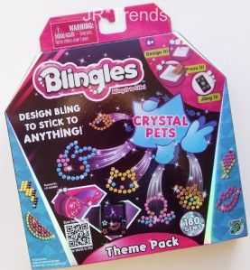 Crystal Pets Theme Pack Create Your Own Bling Designs New Item