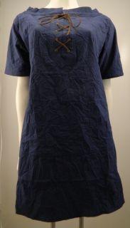 Sundance Catalog Cobalt Blue Suede Laced Tunic Dress 70 Off Retail