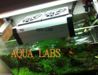 Aqua World Japan Design Aquarium Powerful Double Cooling Fan for Tank