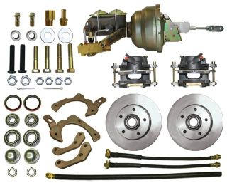 64 Chevy Full Size Disc Brake Conversion Kit With Power Conversion Kit