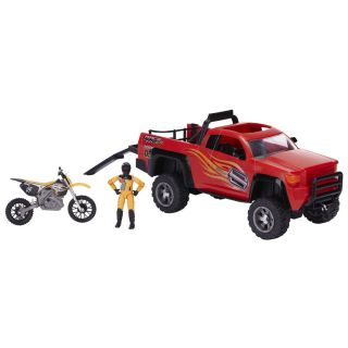 Shift Gear MXS Dirt Bike Toy and Truck