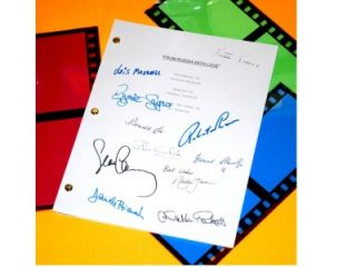 From Russia with Love James Bond 007 Signed Script Sean Connery Robert